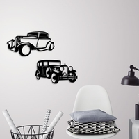 Small Classic cars wall decoration 3D Printing 245687