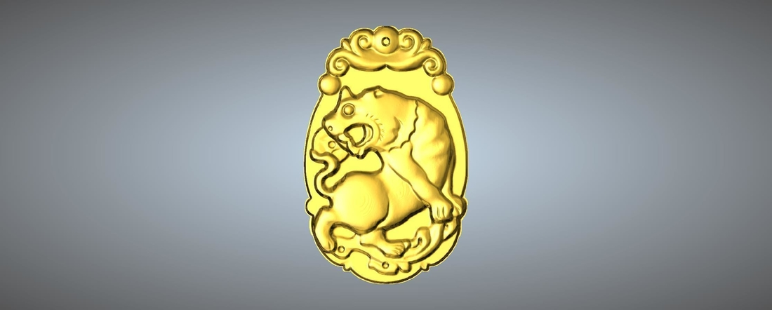Jade carving Chinese zodiac 3D Print 245764