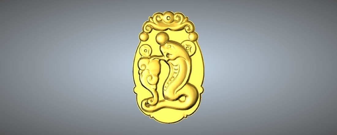 Jade carving Chinese zodiac 3D Print 245767