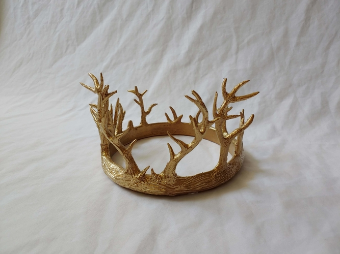 Antler Crown 3D Print 245896