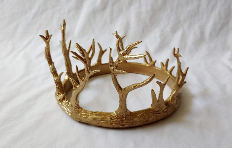 Antler Crown 3D Print 245897