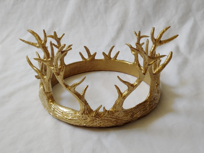 Antler Crown 3D Print 245898