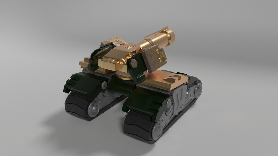 Overwatch - Bastion Tank 3D Print 245908