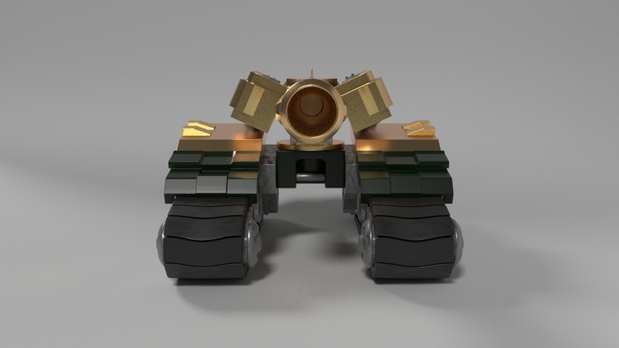 Overwatch - Bastion Tank 3D Print 245909
