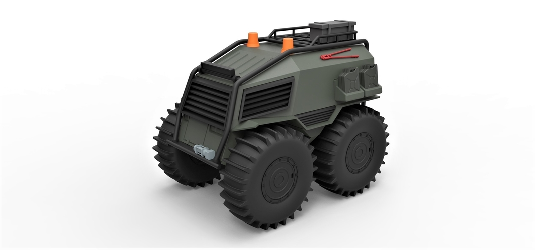 Diecast model SHERP Ultimate survival machine Scale 1:24 3D Print 245910