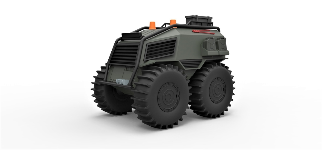 Diecast model SHERP Ultimate survival machine Scale 1:24 3D Print 245911