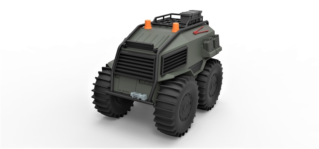 Diecast model SHERP Ultimate survival machine Scale 1:24 3D Print 245912