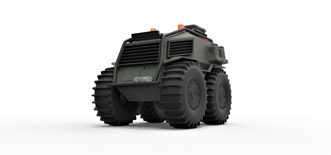 Diecast model SHERP Ultimate survival machine Scale 1:24 3D Print 245913