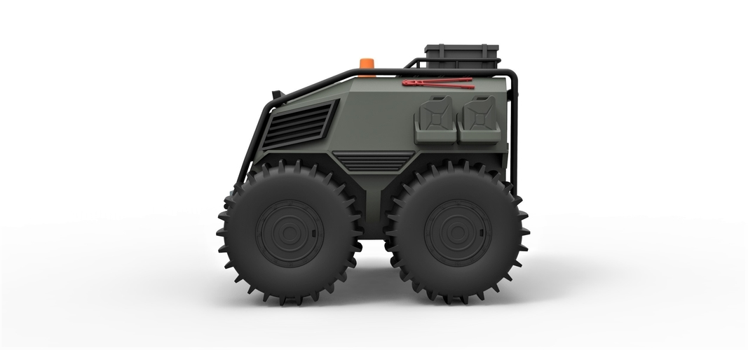 Diecast model SHERP Ultimate survival machine Scale 1:24 3D Print 245916