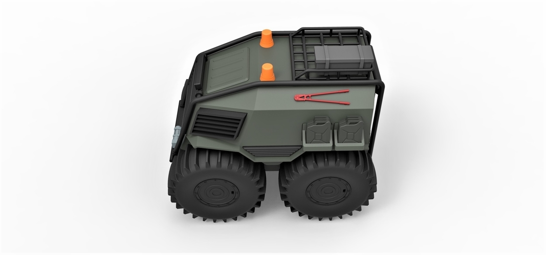 Diecast model SHERP Ultimate survival machine Scale 1:24 3D Print 245917