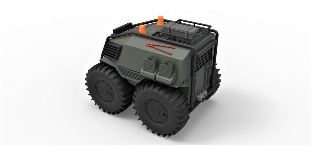 Diecast model SHERP Ultimate survival machine Scale 1:24 3D Print 245919
