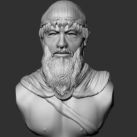 Small Leonidas Bust 3D Printing 245940