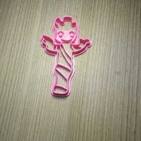 Small GROOT BABY PLANT COOKIES CUTTER 3D Printing 245969