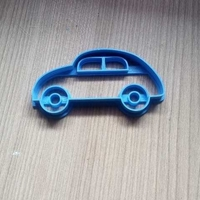 Small VINTAGE CAR COOKIE CUTTER 3D Printing 245978