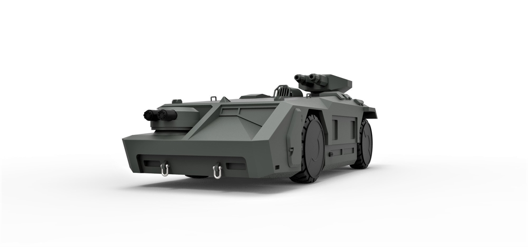 Diecast model M577 from Aliens Scale 1:32 3D Print 246085