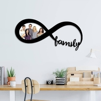 Small Family infinity photo frame  3D Printing 246525