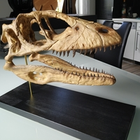 Small Deinonychus Skull (Part 1/2) 3D Printing 246537
