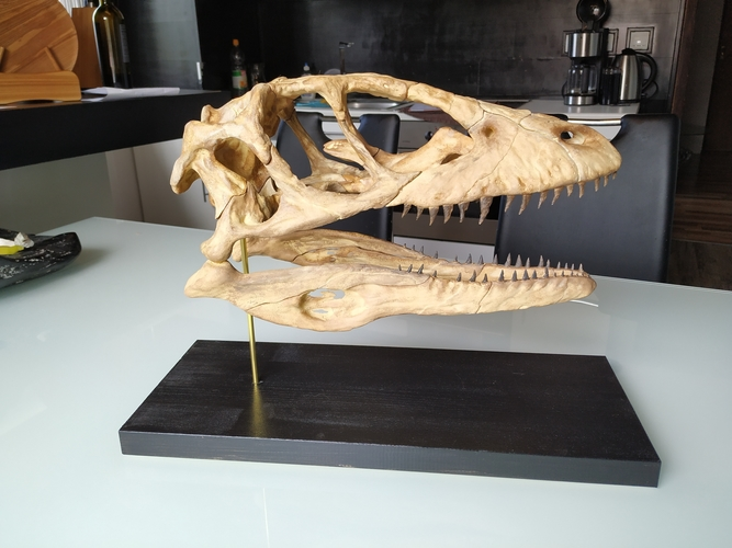 Deinonychus Skull (Part 1/2) 3D Print 246540