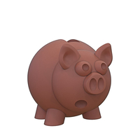 Small piggy bank 3D Printing 246596