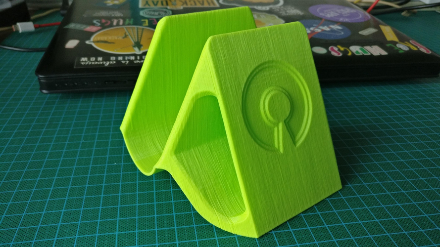 Vertical laptop stand 3D Print 246619