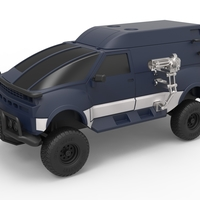 Small Diecast RV from Hell from Tango and Cash Scale 1:24 3D Printing 246697