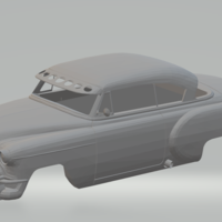 Small chevrolet bel air custom slot car  3D Printing 246716