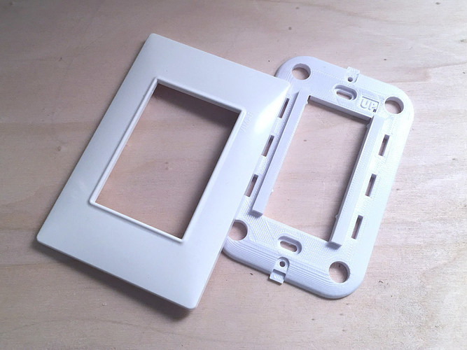 Vimar Plana - Insteon mini remote wall mount bracket 3D Print 246778