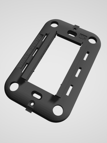 Vimar Plana - Insteon mini remote wall mount bracket 3D Print 246779