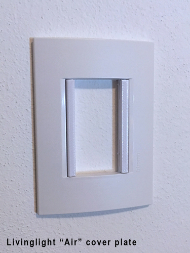 Bticino Livinglight - Insteon mini remote wall mount bracket 3D Print 246781