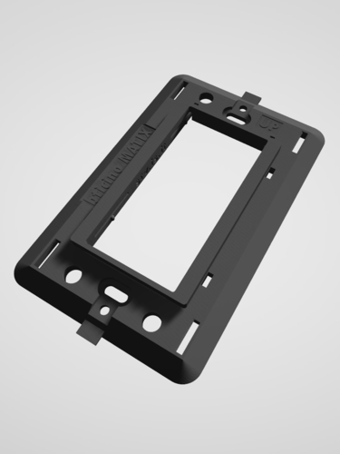 Bticino Matix - Insteon mini remote wall mount bracket 3D Print 246789