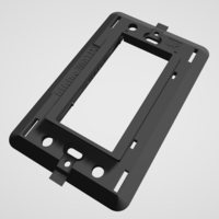 Small Bticino Matix - Insteon mini remote wall mount bracket 3D Printing 246789