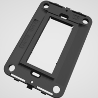Small Vimar Idea - Insteon mini remote wall mount bracket 3D Printing 246796