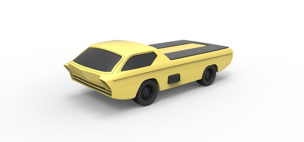 Diecast model Dodge Deora 1967 Scale 1:24 3D Print 246797