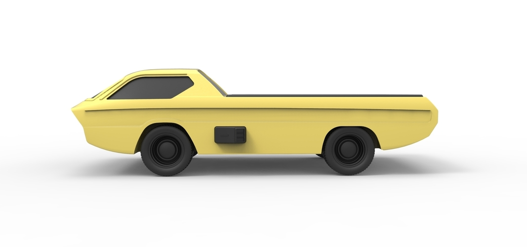 Diecast model Dodge Deora 1967 Scale 1:24 3D Print 246803
