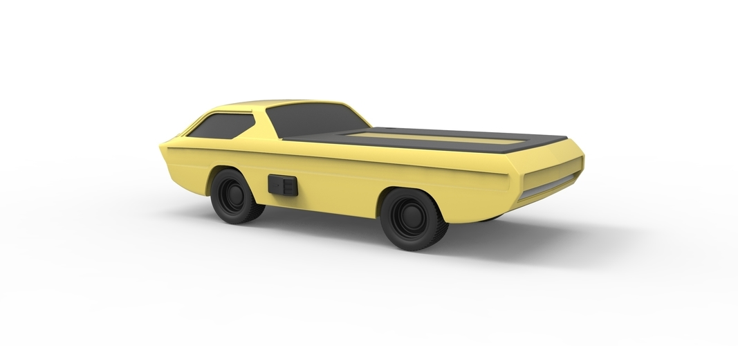 Diecast model Dodge Deora 1967 Scale 1:24 3D Print 246807