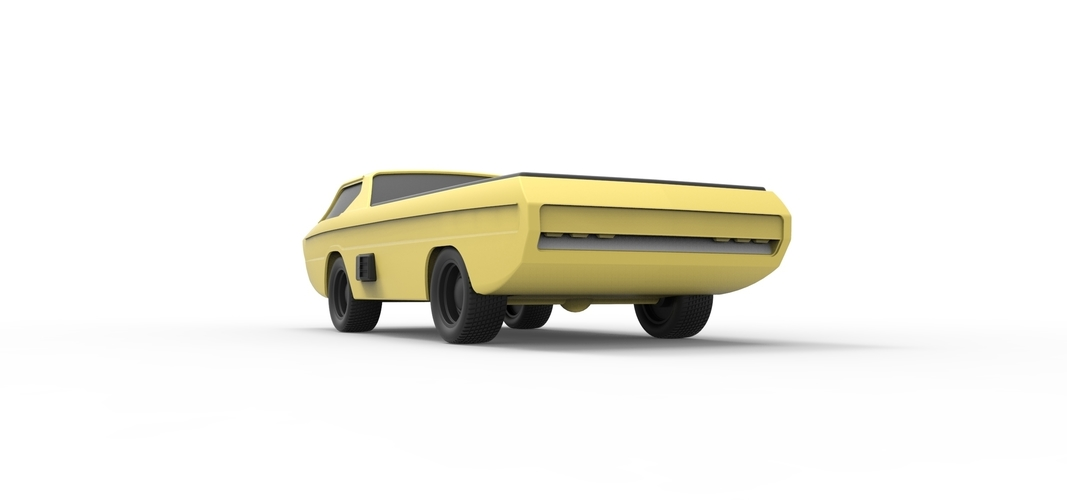 Diecast model Dodge Deora 1967 Scale 1:24 3D Print 246809