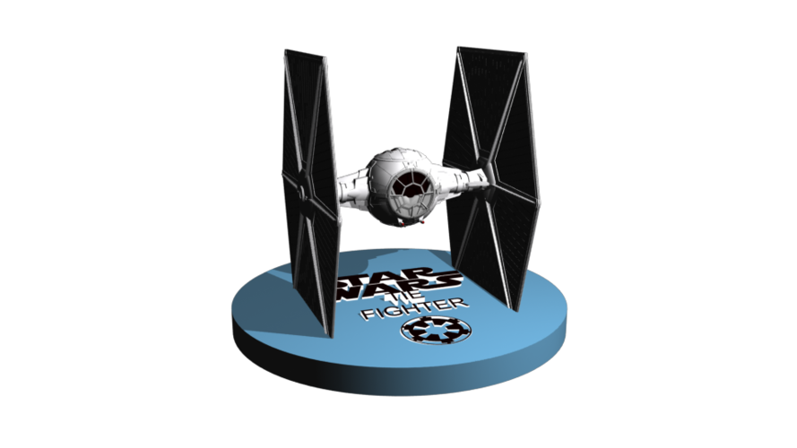 TieFighter to sell 13 cm to printer 3D Print 246860