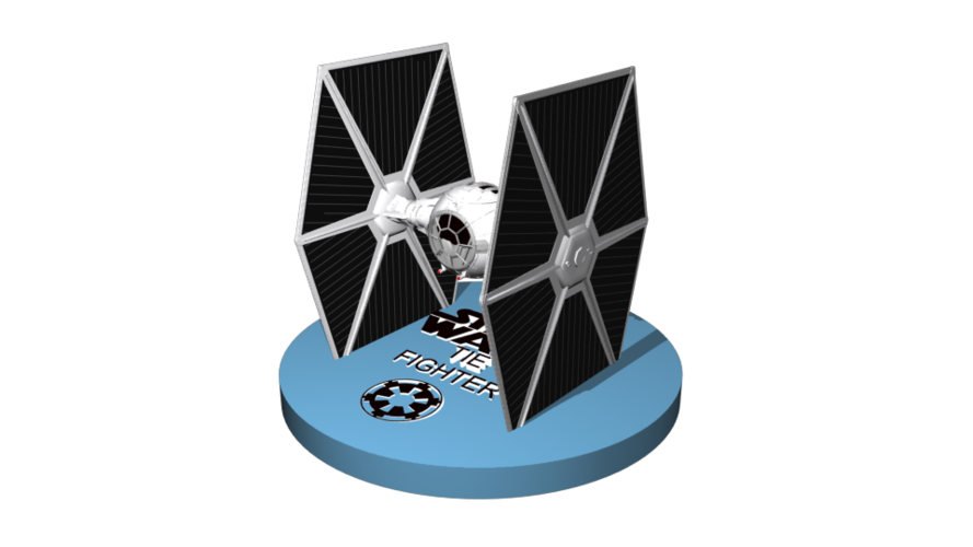 TieFighter to sell 13 cm to printer 3D Print 246861