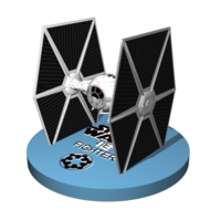 Small TieFighter to sell 13 cm to printer 3D Printing 246861
