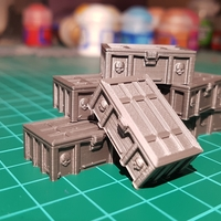 Small Tabletop crate 3D Printing 246889
