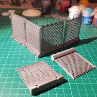 Small Tabletop fence 3D Printing 246894