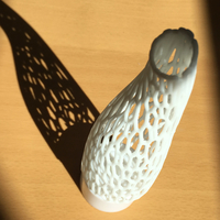 Small Voronoi Twisted Candle forms 3D Printing 246924