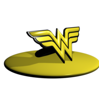 Small ring wonder woman to sell 3D Printing 247037