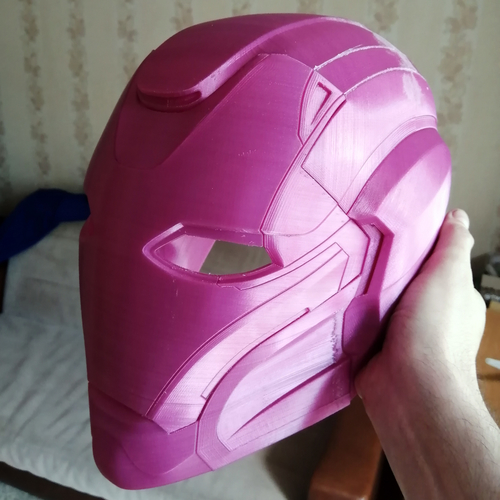 Pepper Pots Mark 49 helmet model for 3D-printing, DIY (may 16) 3D Print 247171