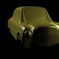 Small fiat 600 car toy classic argentinian 3D Printing 247192