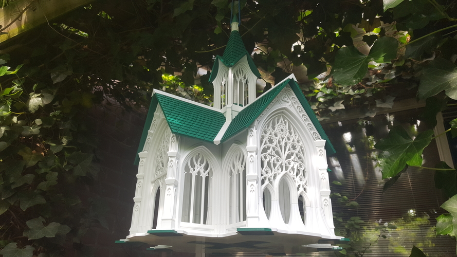 Bird Cathedral 3D Print 247255