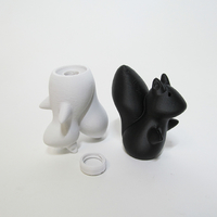 Small Squirrel S&P Shaker 3D Printing 247256