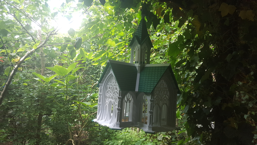 Bird Cathedral 3D Print 247271