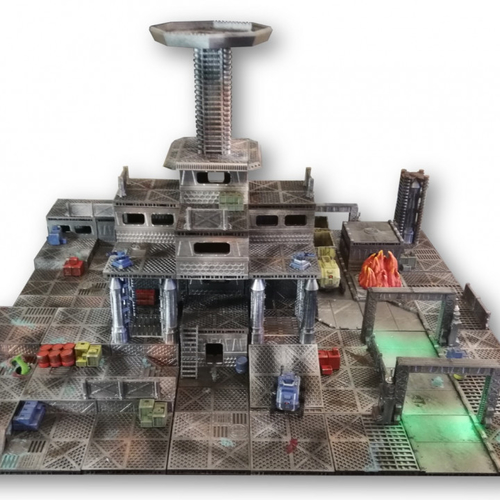 Industrial Sector Omicron - Huge Tiles Bundle  3D Print 247329