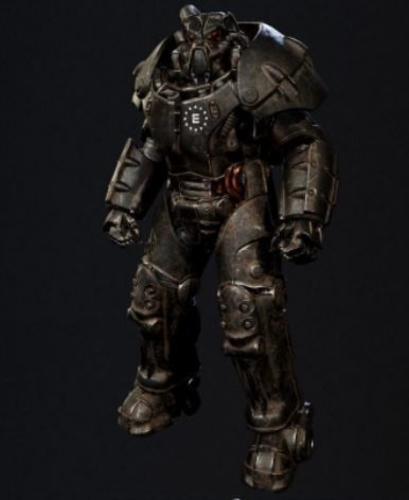 Fallout  Miami  Enclave Advance  Power  Armor 3D Print 247337